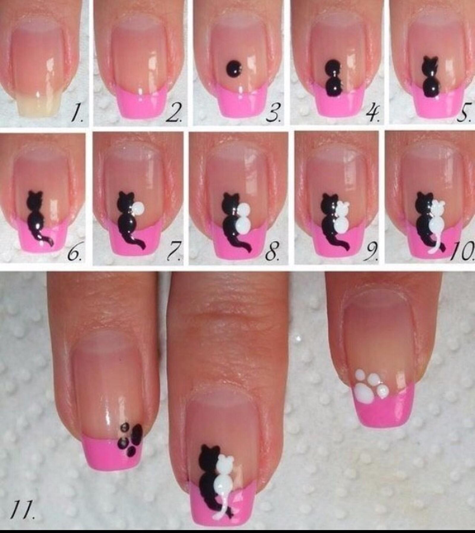 Как самому сделать дизайн ногтей