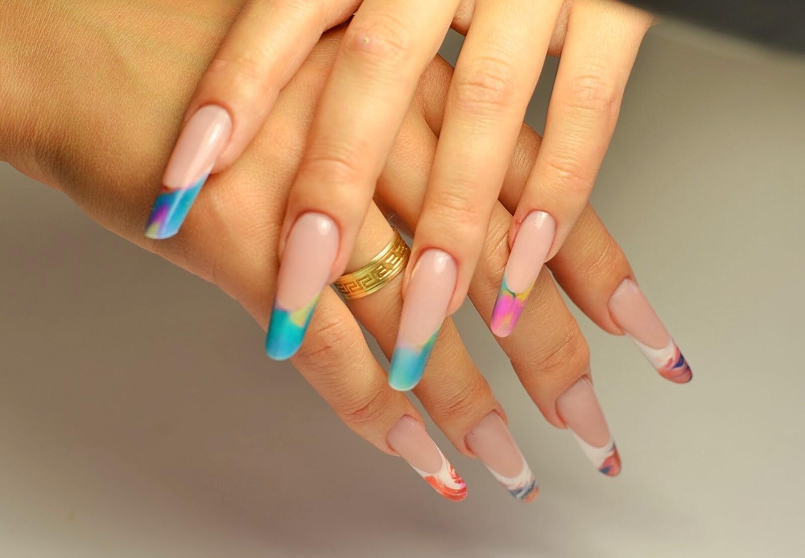Дизайн ногтей фото арочные