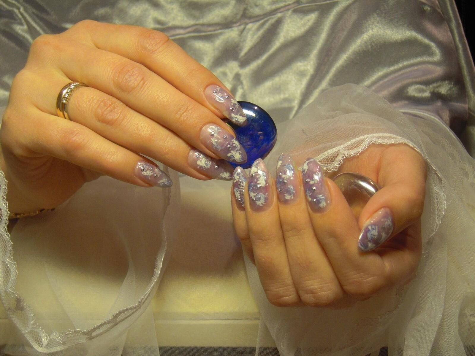 Фото дизайна ногтей термогелями